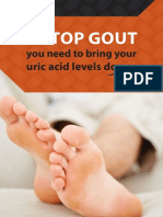 To Stop Gout