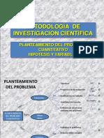 2-CAP III - IV Planteamiento del Problema Cuantitativa Hipo_tesis y Variables.ppt