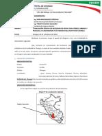 Informe Nº 020 - Donacion Friaje