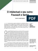 o Intelectual e Seu Outro - Foucault e Sartre - Rjribeiro 1995