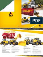 SDLG Wheel Loaders Full Line Product Brochure 2018