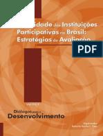 Efetividade Das Instituições Participativas No Brasil - Estratégias de Avaliação