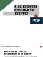 Etiqueta Para Events
