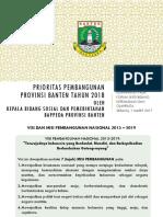 Forum SKPD Bidang Kepemudaan Dan Olahraga