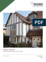 Rehau Total70 Windows Product Brochure 574feb1d5cf56