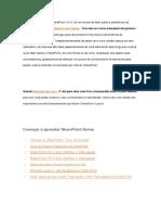 Sharepoint Resumo Blog.en.Pt
