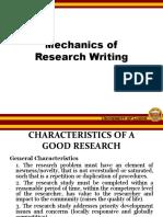 5 Mechanics of Writing
