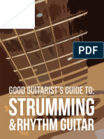 Good Guitarist - Guide to Strumming and Rhythm - 1st Edition Revision D