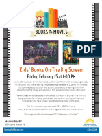 February JPL Children's Book Club