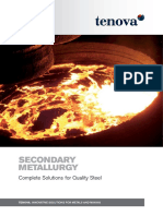 TENOVA Brochure Secondary Metallurgy