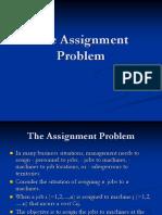 e1605 Assignment Problem