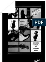 Fender Guitars and Basses 1995