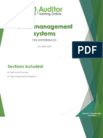 The Differences Between OHS Management System Standards
