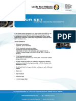 CR DDR Product Specifications