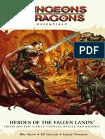 D&D4e Heroes of the Fallen Lands & Forgotten Kingdoms
