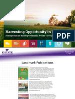 Harvesting Opportunity Presentation