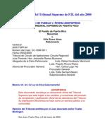 2000 DTS 040 PUEBLO v. RIVERA 2000 TSPR 040 Grabación Sin Consentimiento