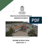 Informe Final Sibaté