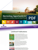 Harvesting Opportunity - Kansas House Agriculture Committee - 1/29/19