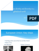 The European Identity and Diversity in a Globalized
