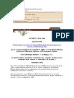 Estatuto Organico de Presupuesto Dto 714 de 1996