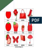 Figuras Color Rojo