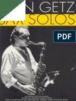 Stan Getz - Sax Solos