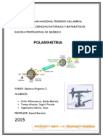Determinaci n Polarimetrica de Azucar