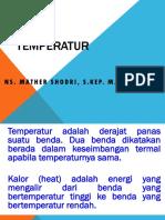 Temperatur 1