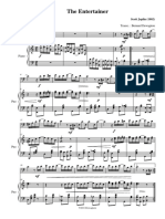 Entertainer - Trombone