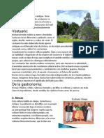 Culturas 4 de Guatemala