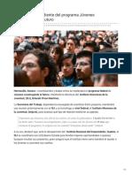 16-01-2019 - ISJ estará al pendiente del programa Jóvenes construyendo el futuro - Tribuna.com.mx