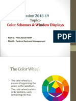 The Color Wheel & Scheme