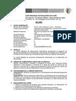 Silabo 2019 -I Herramientas Informaticas
