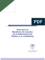 Anexo 1 Guia Rendicion de Cuentas DAFP