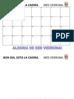 Vedruna Balaguer MURAL AULA