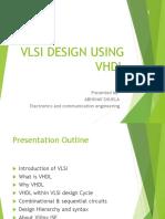 VLSI DESIGN USING VHDL