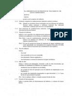 Especificação para projeto de rede de esgoto