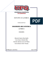 Reporte de Quimica