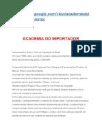 Academia Do Importador - como importar de forma legal e segura e mais barata