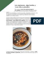 Garbanzos con espinacas, alga kombu y bacalao (con olla a presión).doc