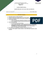 Examen A3D 1 Parcial 2018 2T - TEORIA