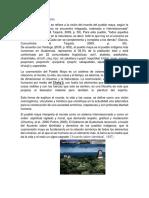 Importancia de La Naturaleza en La Cosmovision Maya
