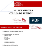 Taller Colilla de Sueldo PS 2018 MUD Abril