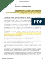 IFPR - Resolução Nº 16, De 05 de Maio de 2016