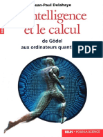 Jean-Paul Delahaye - L'Intelligence Et Le Calcul (2002, Belin)