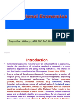 0.43 Institutional Theory of Agricultural Economics Dec 2018 Student Copy
