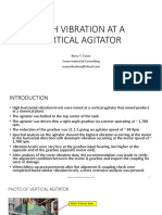 High Vibration at a Vertical Agitator 050218