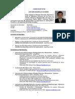 Curriculum Vitae- Luis Jaramillo Sidisi