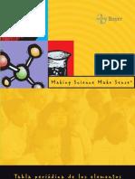 Tabla Periodica de Los Elementos -principales aplicaciones